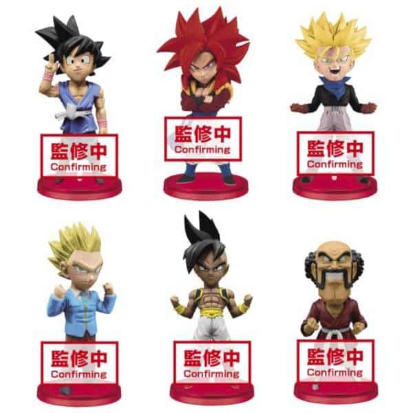 Banpresto Dragonball Super Heroes WCF World Collectable Figure  Vol.4 Full SET