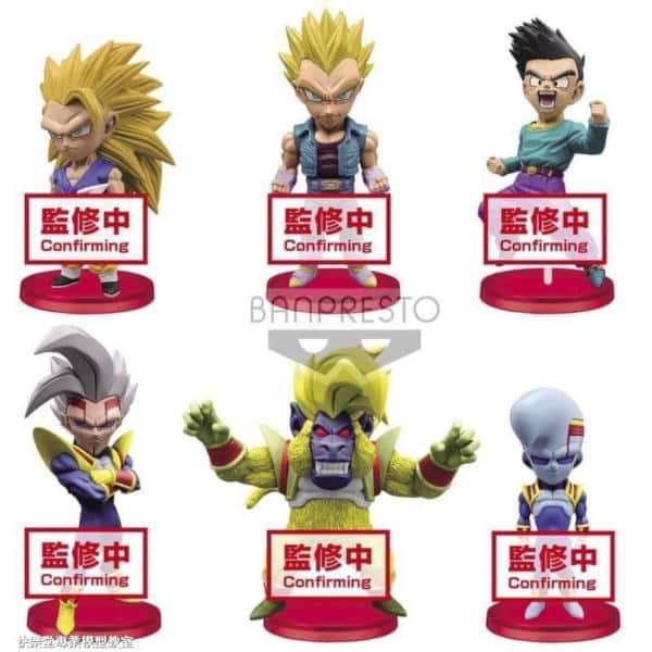 Banpresto Dragon Ball Legends Collab World Collectable Figure WCF vol.1 set of 6