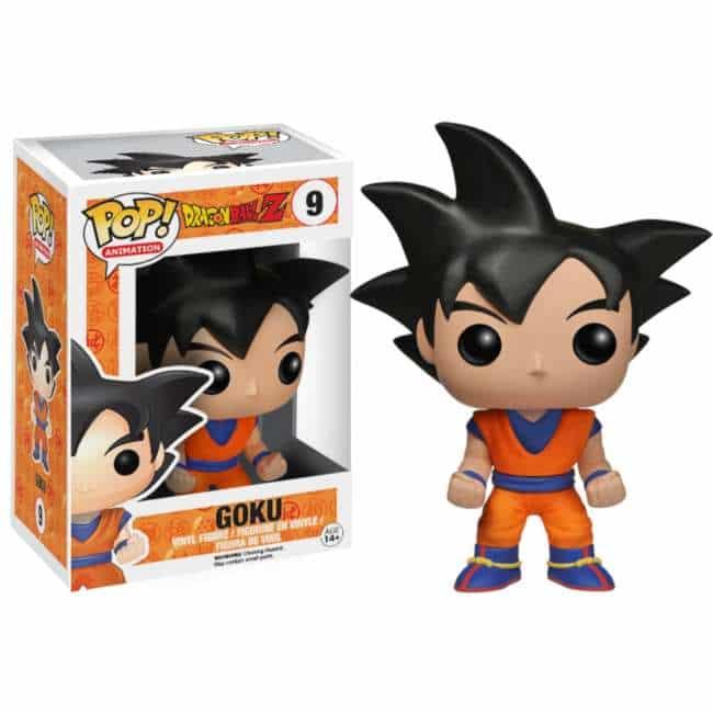 Pop Goku 9 Dragon Ball Z Funko Vinyl Figure Figure