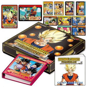 CARDDASS PREMIUM SET VOL.5 DRAGON BALL BANDAI PREMIUM