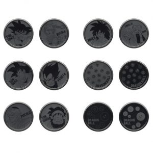 COASTER ICHIBAN KUJI WARRIORS PROTECT THE EARTH FULL SET DRAGON BALL BANDAI (SET OF 12)