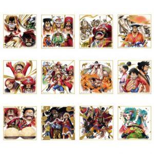 SHIKISHI LEGENDS OVER TIME ONE PIECE ICHIBAN KUJI FULL SET OF 12 BANDAI LOT I
